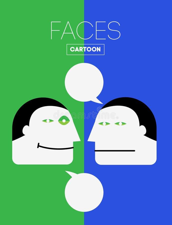 Голова эмоций бесплатная иллюстрация