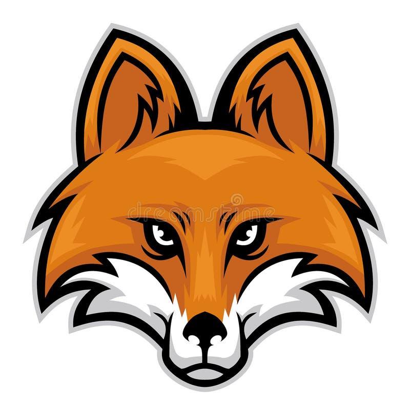 Голова Fox иллюстрация штока