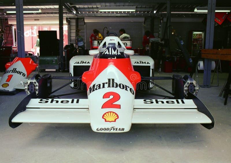 Голова McLaren MP4 дальше стоковое фото rf