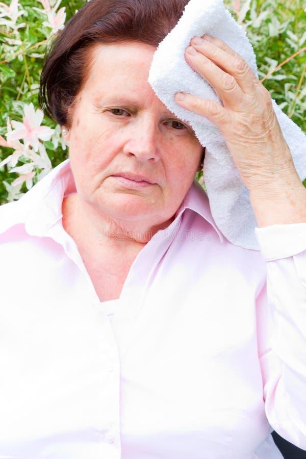 Головная боль стоковое фото rf