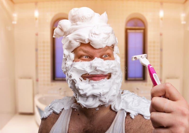 Головной брить для людей стоковые фото