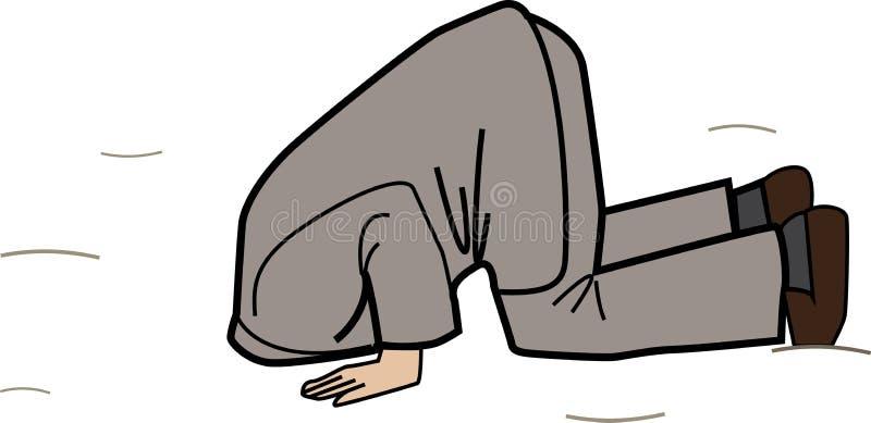 головной песок иллюстрация штока