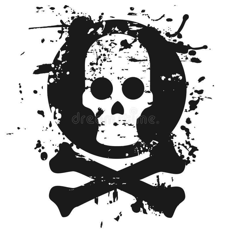головной скелет иллюстрация штока