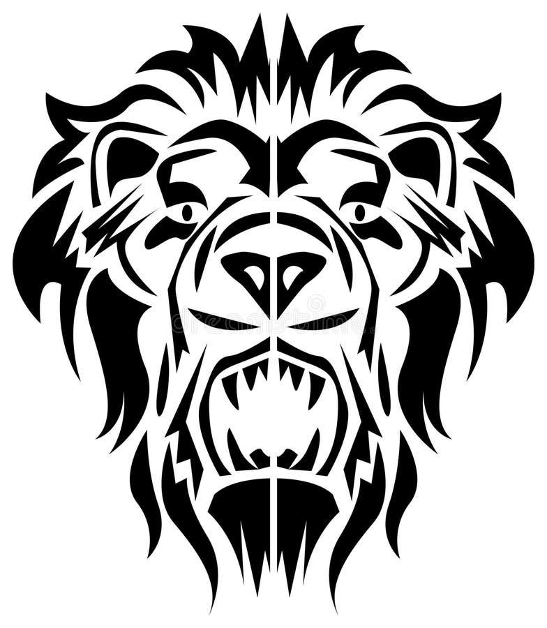 головной львев бесплатная иллюстрация