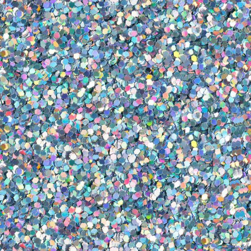 Голографическая текстура яркого блеска безшовная квадратная текстура стоковая фотография rf