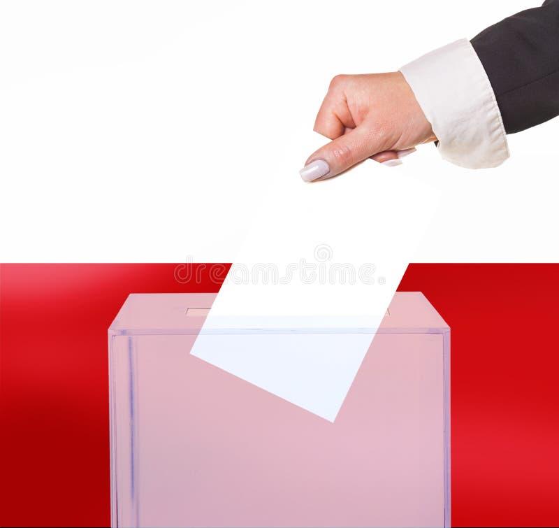 Голосование выборщиков голосованием стоковая фотография rf