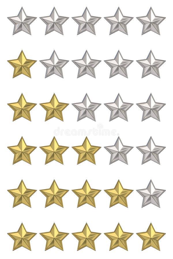 голосовать разрешения мыши изображения оценки принципиальной схемы стрелки высокий Классифицировать 5 звезд Комплект 3D представл стоковое фото