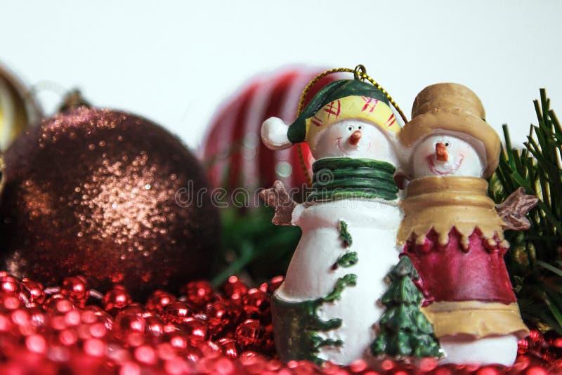 год рождества 2007 шариков стоковое изображение rf