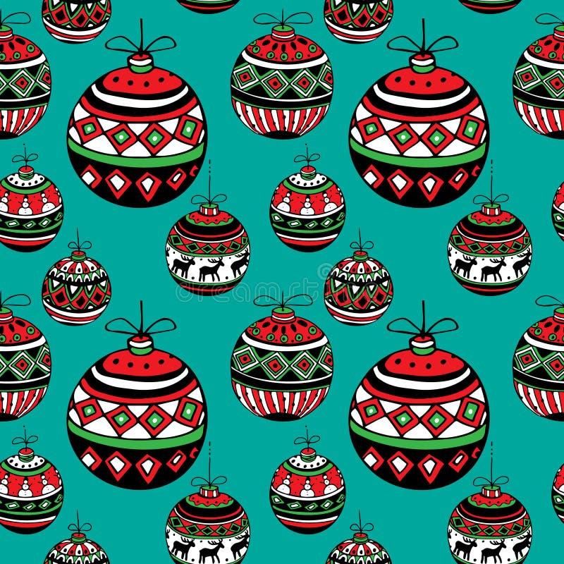 год рождества 2007 шариков бесплатная иллюстрация