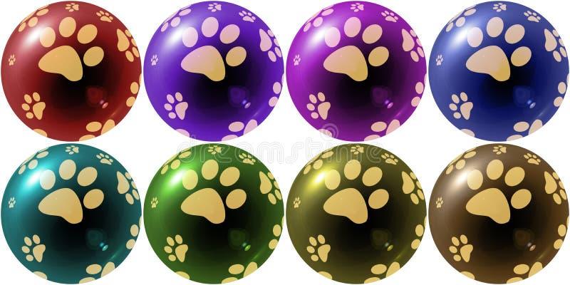 год рождества 2007 шариков стоковое изображение