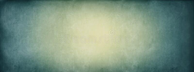 Год сбора винограда знамени предпосылки доски бирюзы желтый стоковые фото