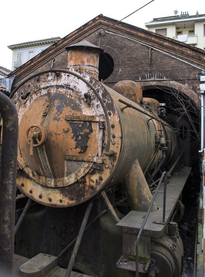 Год сбора винограда поезда стоковые фото