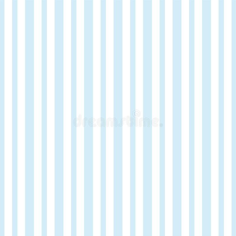 Голубая безшовная striped предпосылка картины упаковывая бумажная иллюстрация вектора