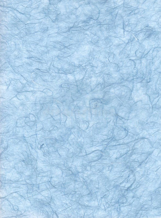 Голубая бумага волокна стоковое фото rf