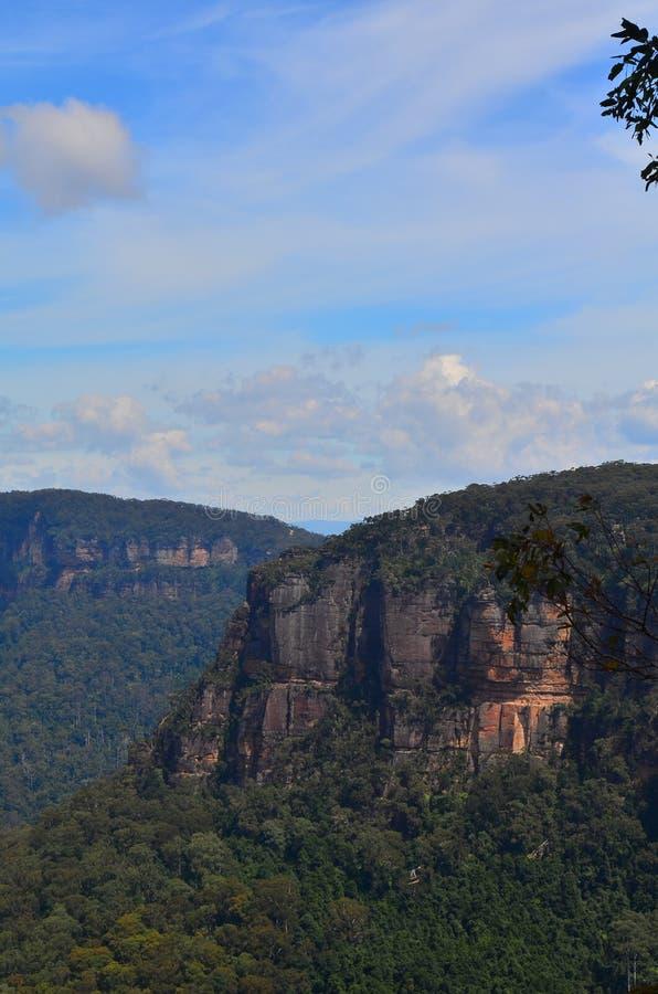 Голубая гора 6 стоковое фото rf