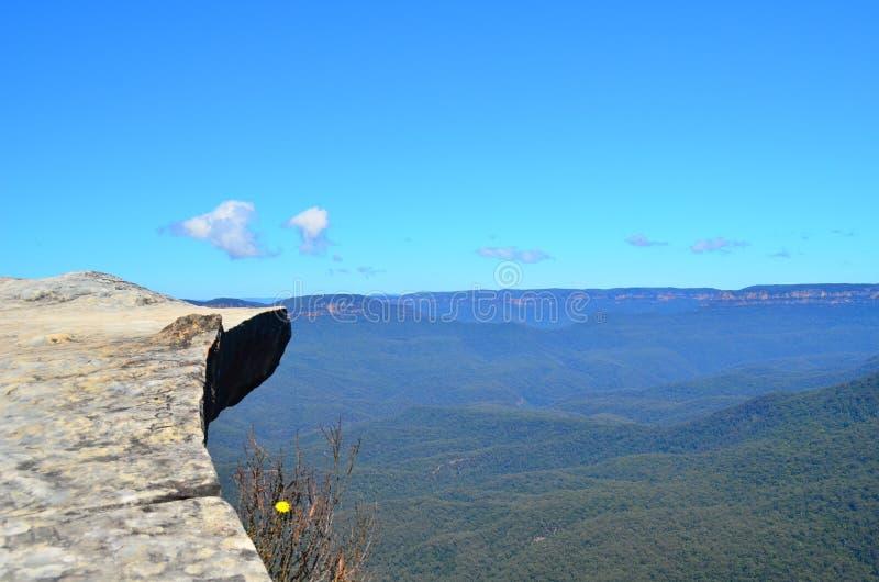 Голубая гора 10 стоковое изображение rf
