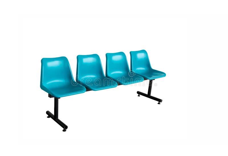 Голубая изолированная пластмасса предводительствует вкосую угол стоковое фото rf