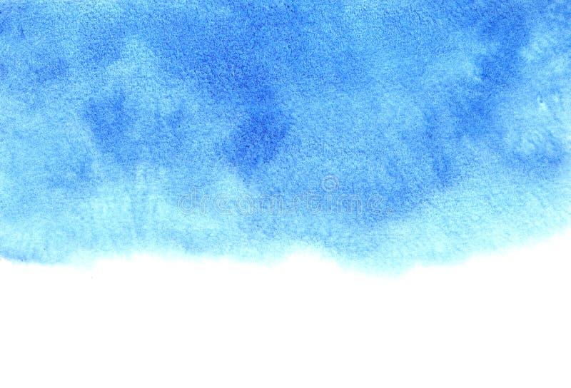 Голубая и белая абстрактная предпосылка иллюстрация штока