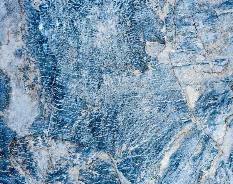Голубая и белая мраморная текстура стоковое фото