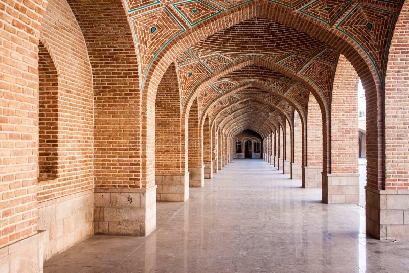 Голубая мечеть в Тебризе стоковые фото