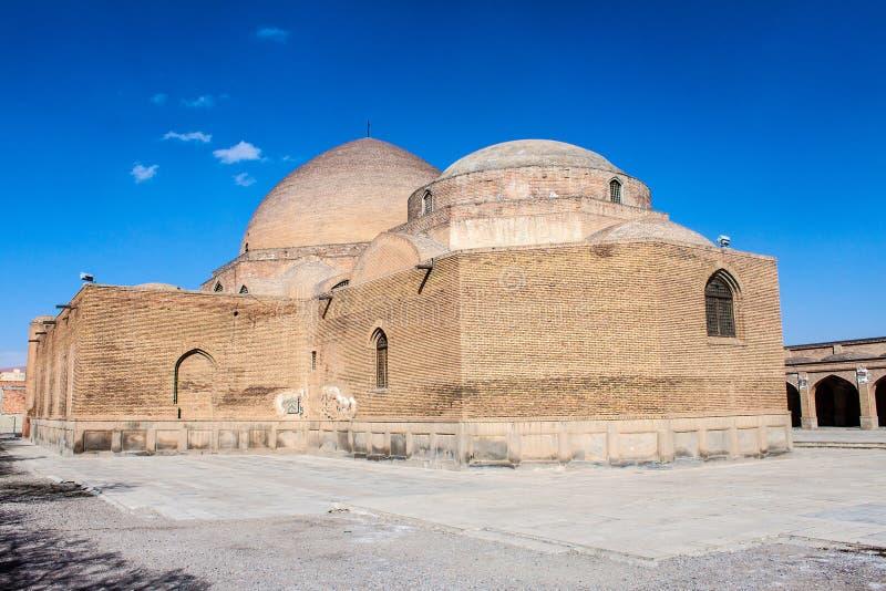 Голубая мечеть в Тебризе стоковые фотографии rf