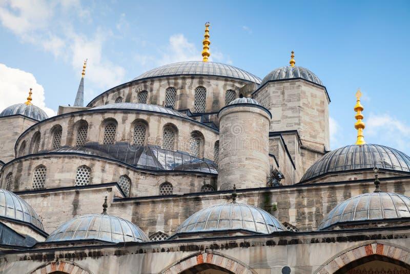 Голубая мечеть или мечеть Ahmed султана, Стамбул стоковое фото
