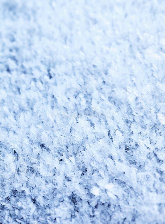 Голубая предпосылка конспекта изморози стоковые фотографии rf