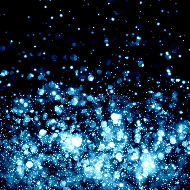 Голубая абстрактная светлая предпосылка иллюстрация штока