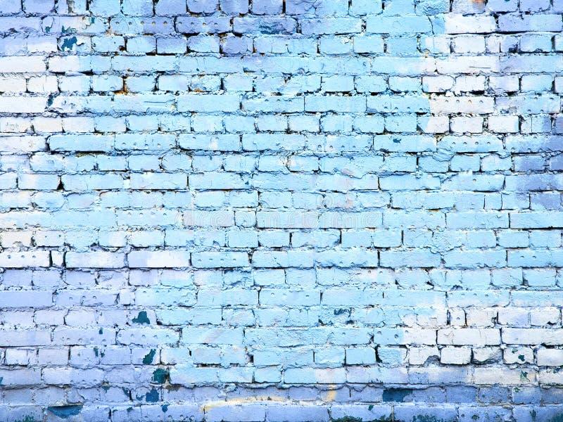 Голубая предпосылка текстуры камня кирпичной стены для дизайна стоковая фотография rf