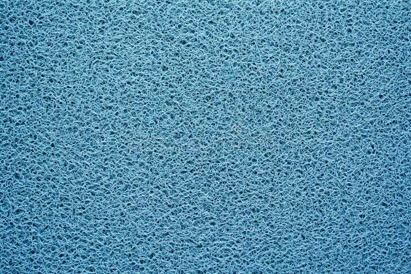Голубая предпосылка текстуры половика стоковые фотографии rf