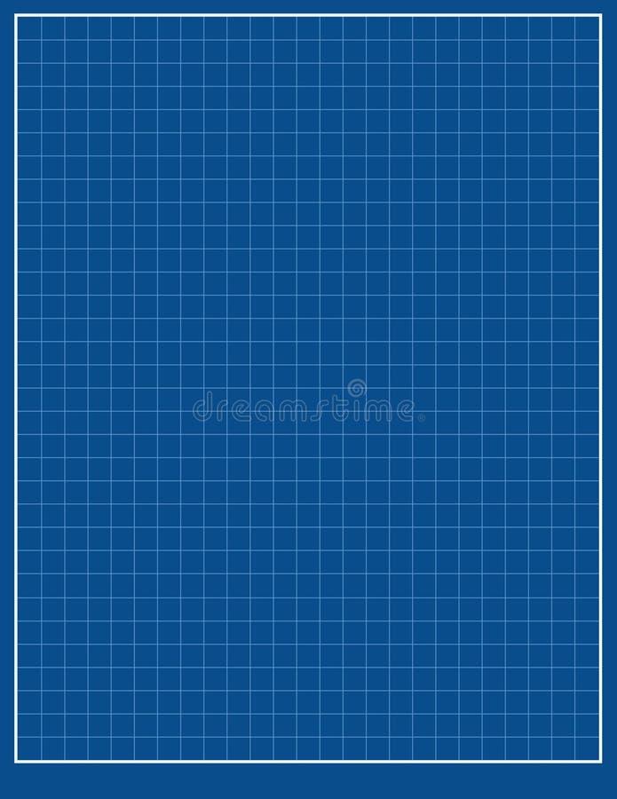 Голубая промышленная бумага иллюстрация вектора