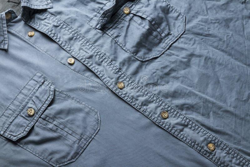 Голубая рубашка стоковые изображения rf