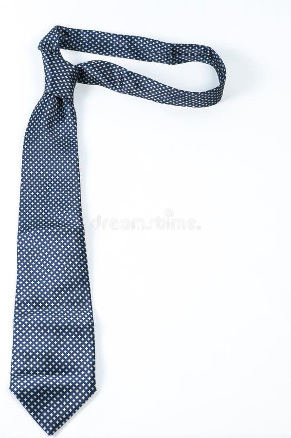 голубая связь шеи стоковое фото