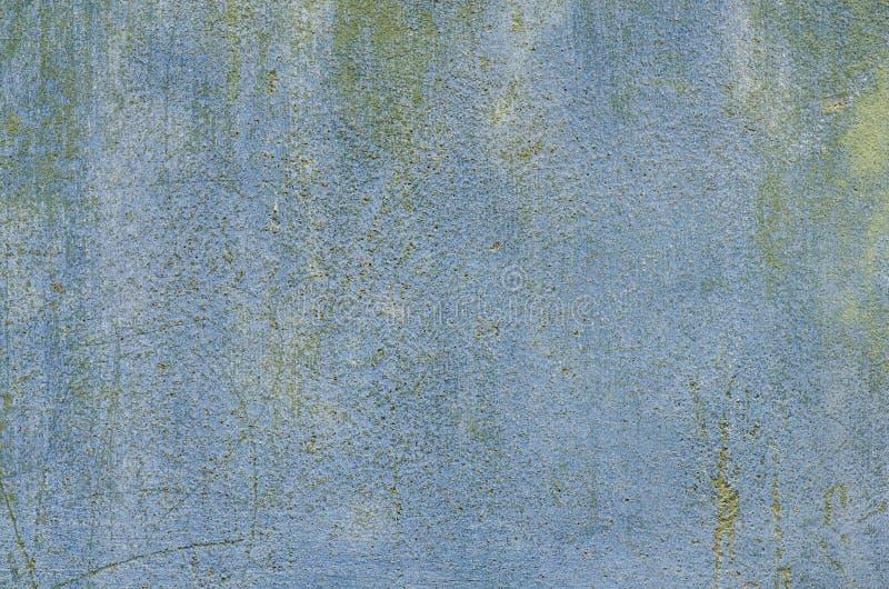 Голубая текстура предпосылки гипсолита стены стоковые фото