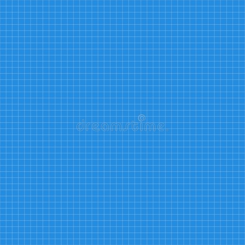 Голубая текстура приданной квадратную форму бумаги безшовная иллюстрация штока