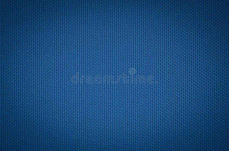 Голубая текстура ткани нейлона стоковое изображение