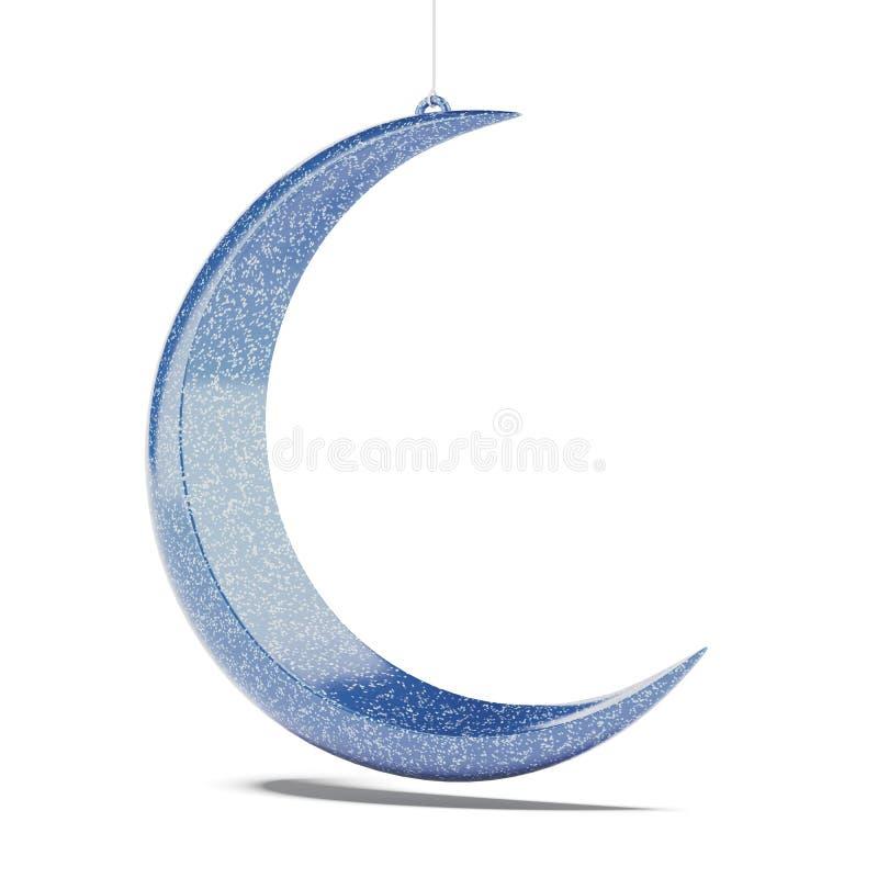 Голубая луна бесплатная иллюстрация