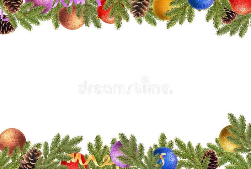 голубое волшебство рамки рождества стоковые изображения