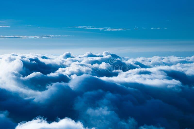 голубое облако стоковые фотографии rf