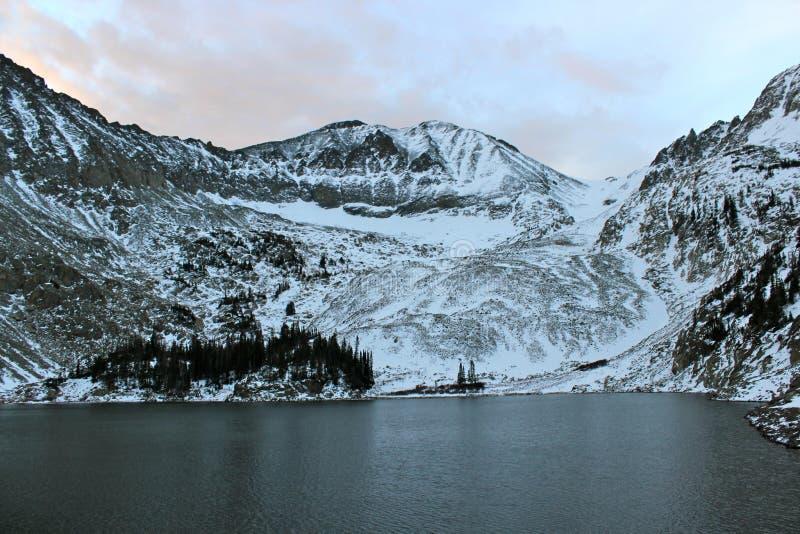 Голубое озеро стоковое фото rf