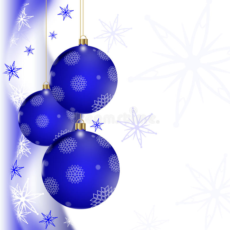 Download голубое приветствие рождества карточки Иллюстрация штока - иллюстрации насчитывающей приветствие, элегантность: 41654026