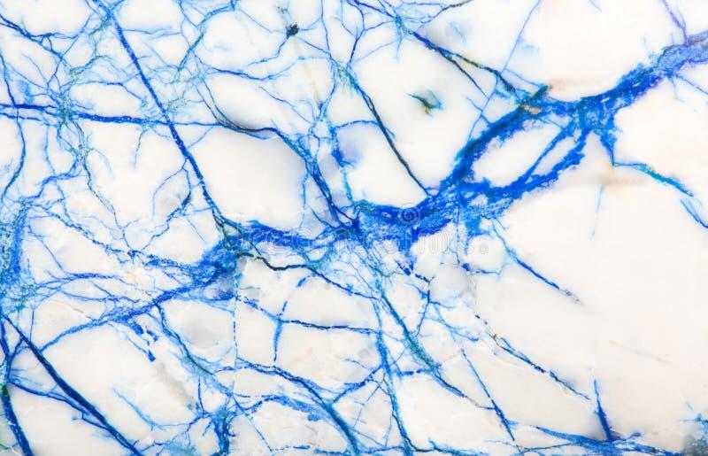 Голубой и белый каменный макрос текстуры стоковое изображение