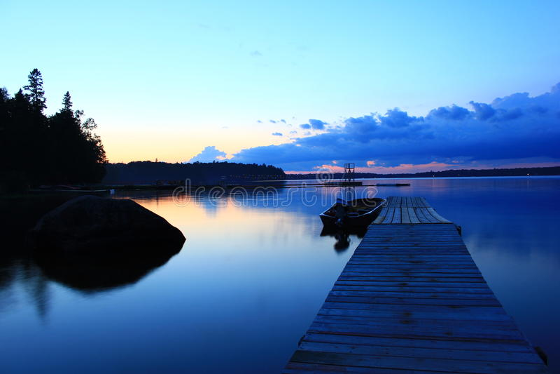голубой мост стоковые изображения rf