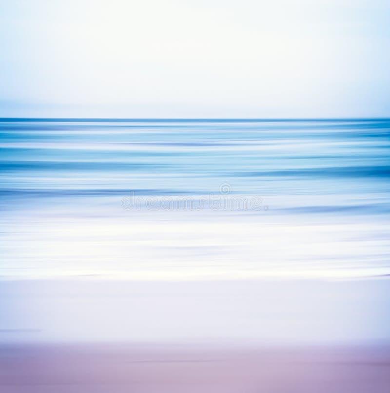 Голубой тонизированный Seascape стоковые фото