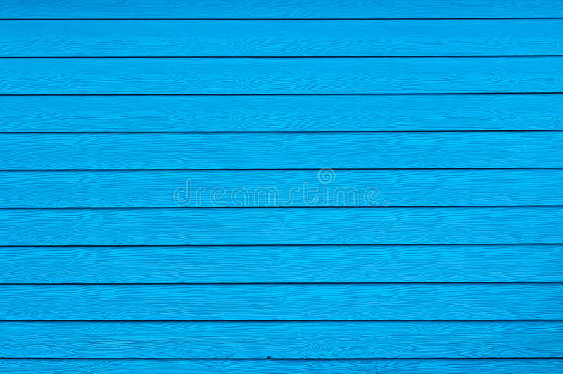Голубой цвет деревянной стены стоковая фотография rf