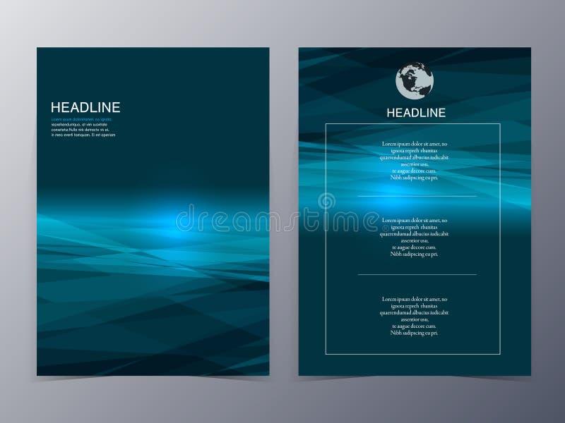 Голубой шаблон рогульки элемента графического дизайна технологии стоковые фотографии rf