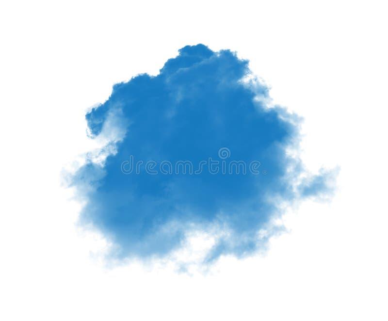 голубой дым стоковое изображение rf