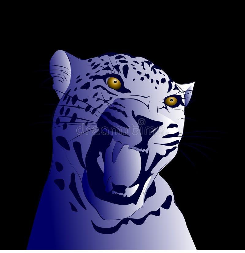 нарисованные картинки леопард
