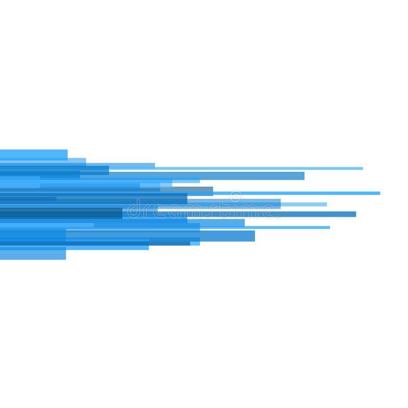Голубые прямые линии конспект на светлой предпосылке. Вектор иллюстрация вектора