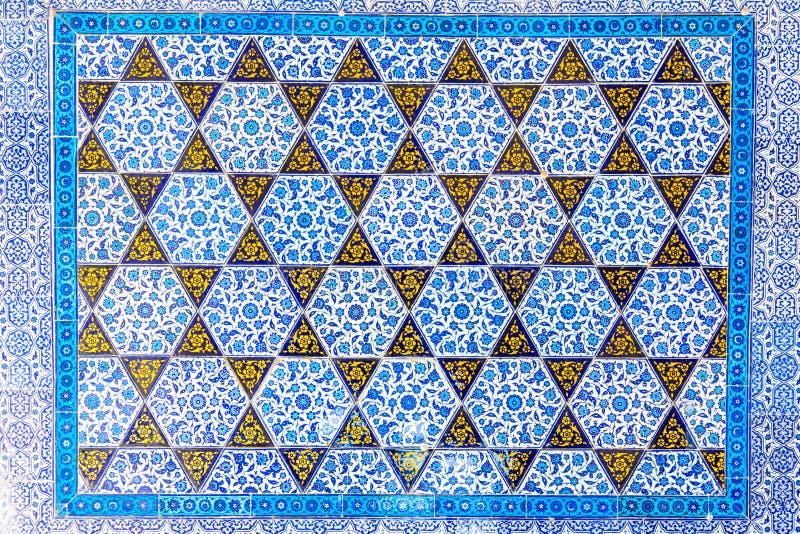 голубые плитки стоковое изображение rf